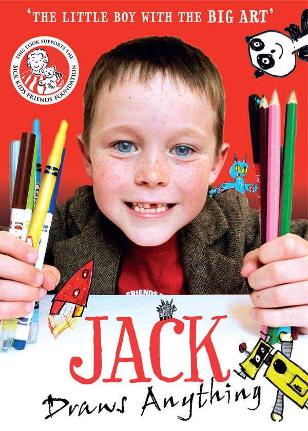 Jack Draws Anything book cover