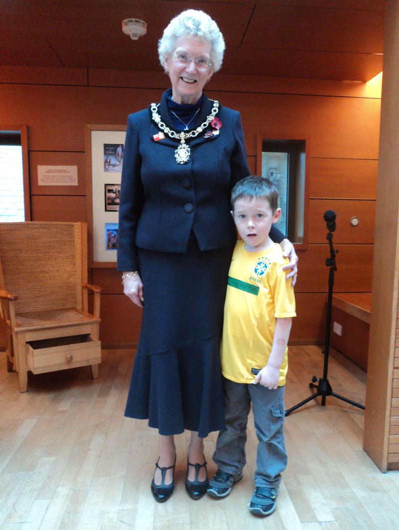 Edinburgh's Lady Provost – Mrs Elizabeth Grubb & Jack