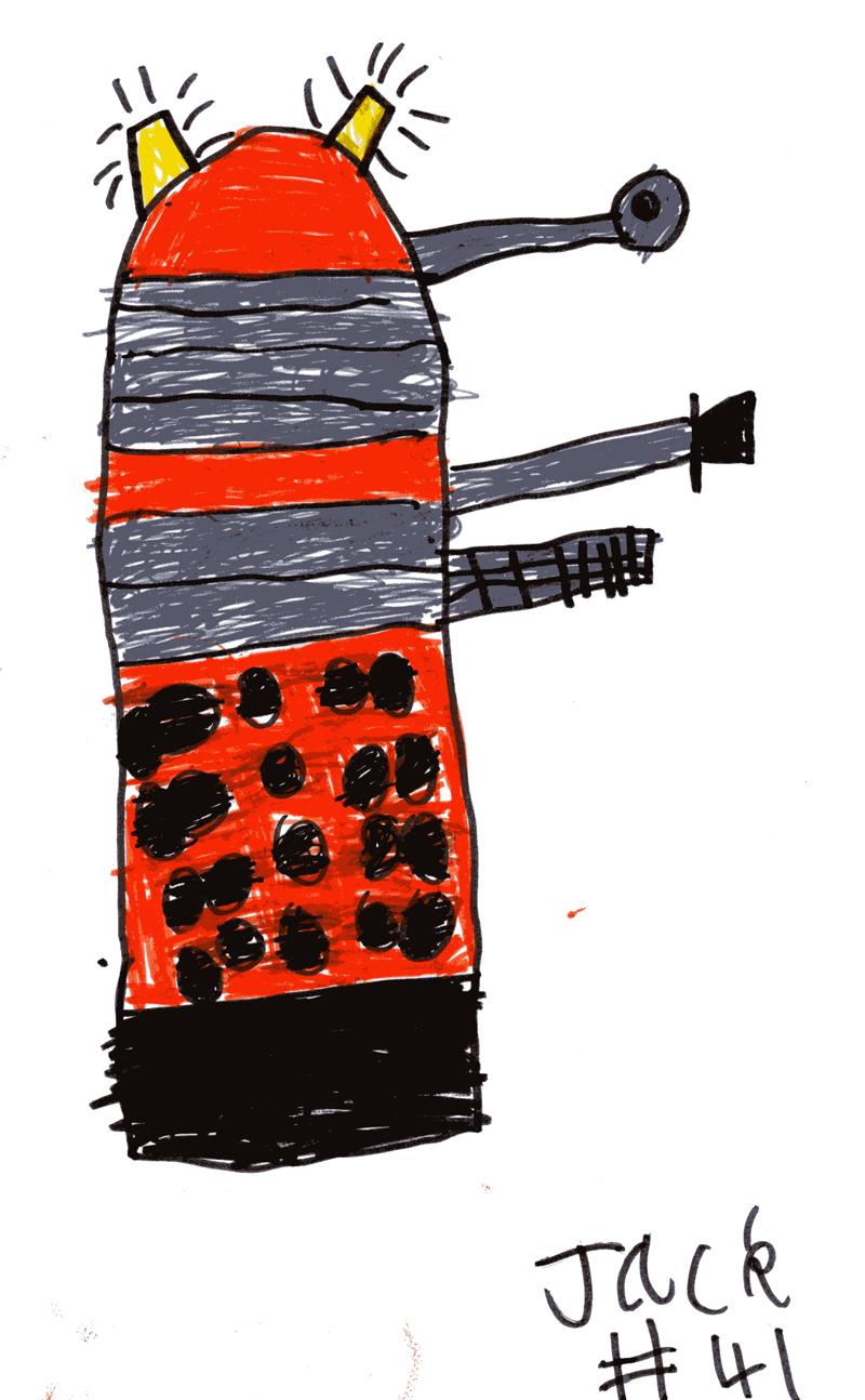 Supreme Dalek for Bryan Wade