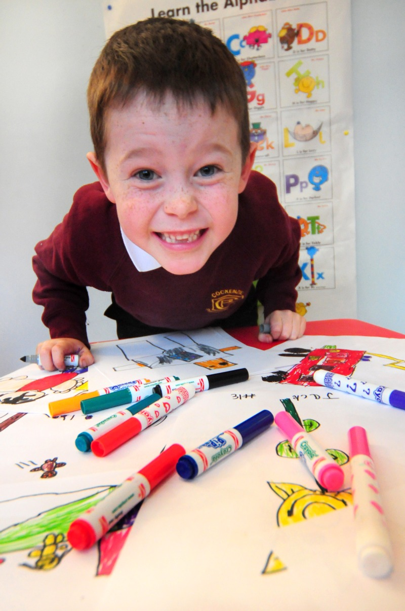 6 year old Jack raises £8000 in 11 days drawing pictures for YOU