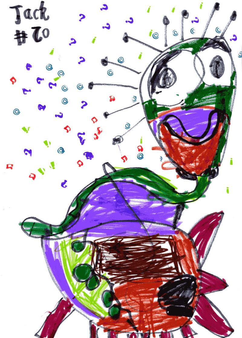 Dinosaur for Nicola Johnson