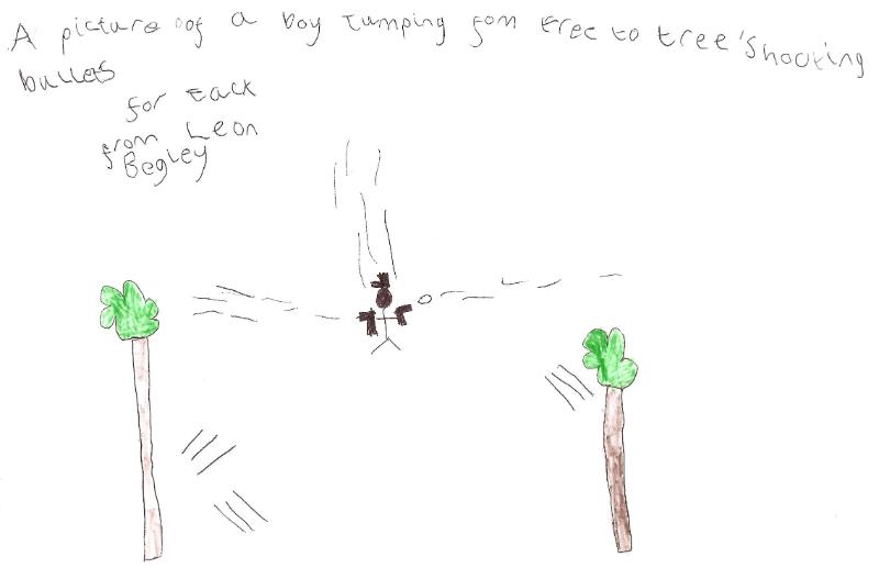 Someone drew ME a picture–Leon