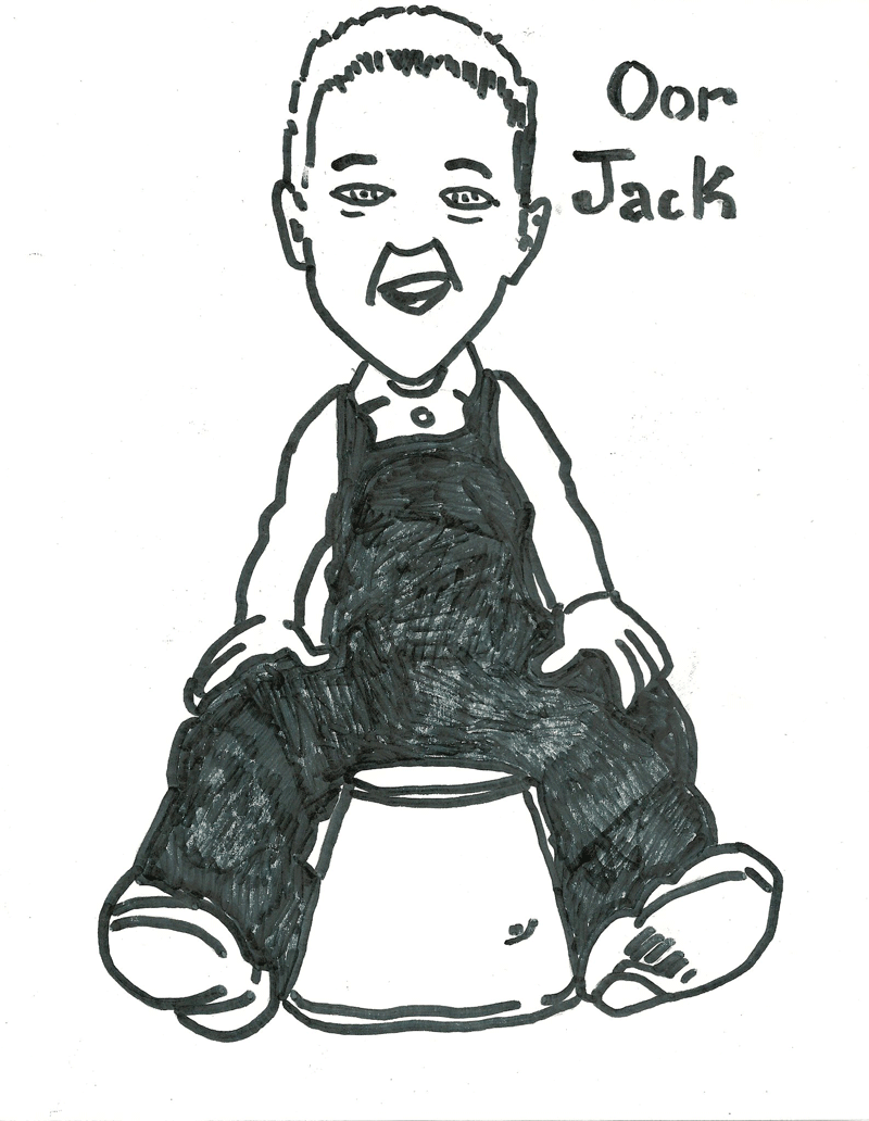Someone drew ME a picture–Oor Jack