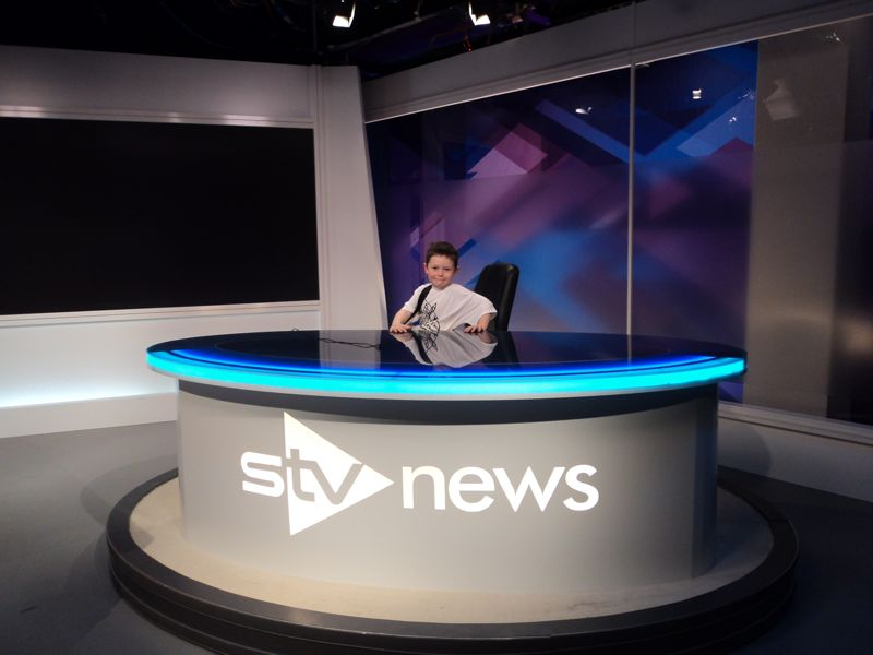 Jack's trip to The Hour (STV, Glasgow) in his own words and pictures