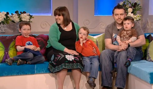 Jack's trip to Fern Britton (Cactus TV, London) in his own words and pictures