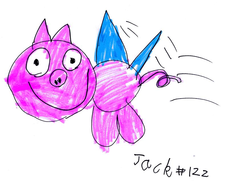 (Flying) Pig for Krista MacKellaig
