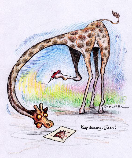 Someone drew me a picture–Reciprocal Giraffe