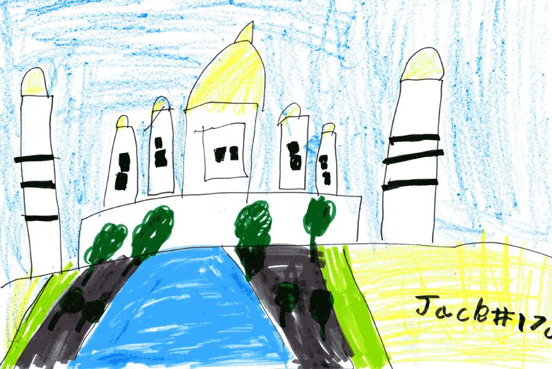 Taj Mahal for Georgina Parker