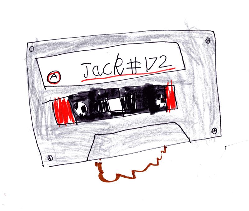 Cassette Tape for Yasmin Ali (Glasgow University Magazine)