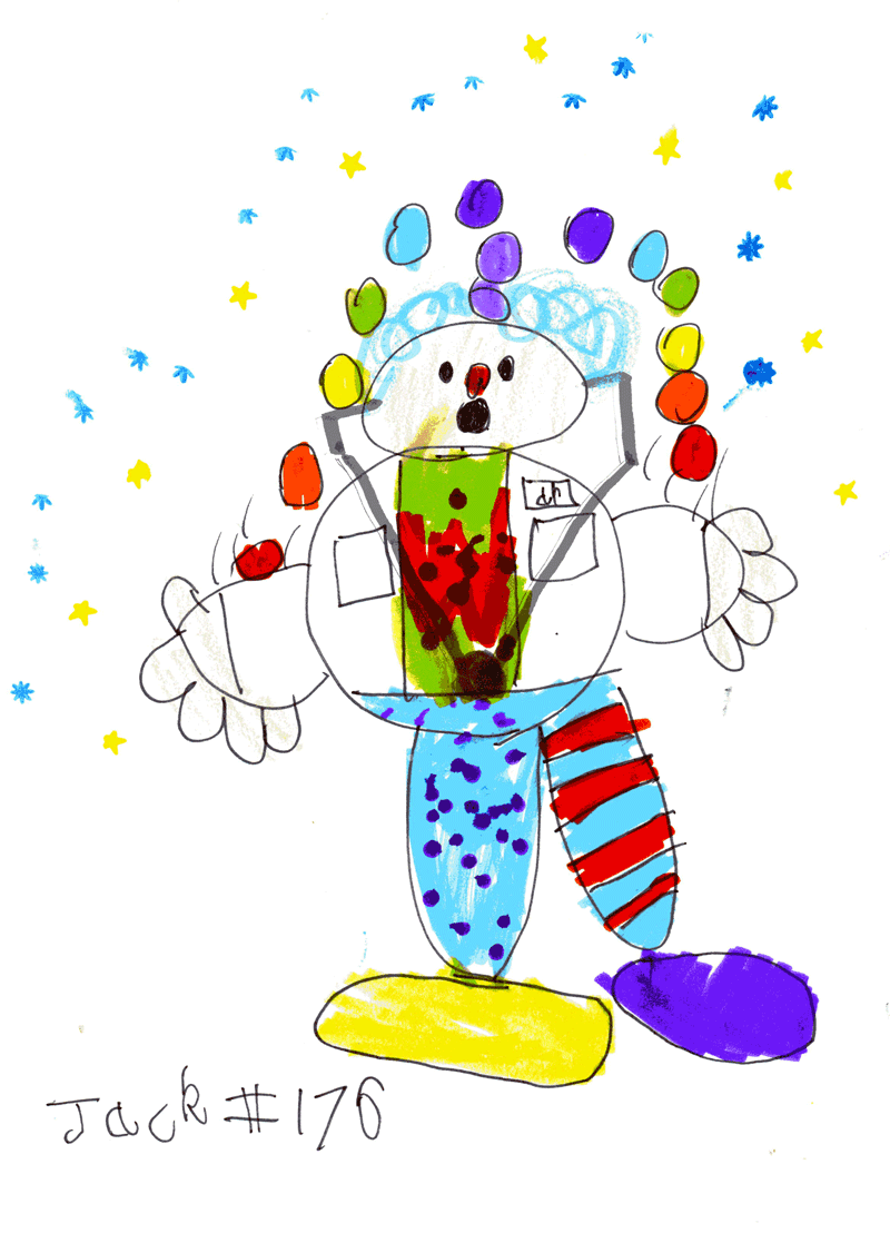 Clowndoctor for Fiona Carr (Hearts & Minds)