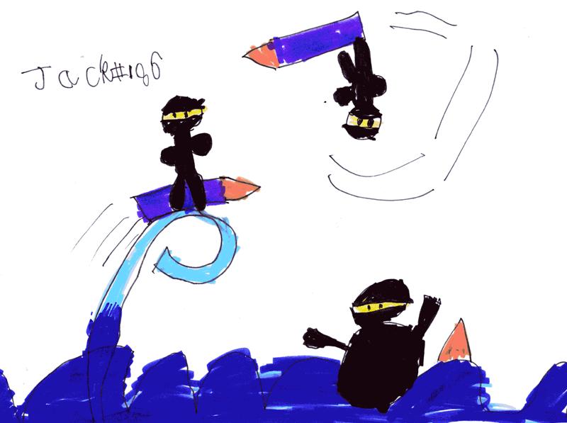 Surfing Ninjas for Andrew Ward