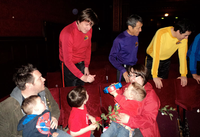 When The Wiggles met the Hendersons