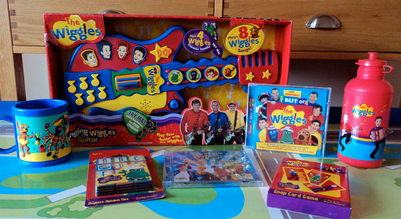 Big thank you to The Wiggles & Juliet Dawson