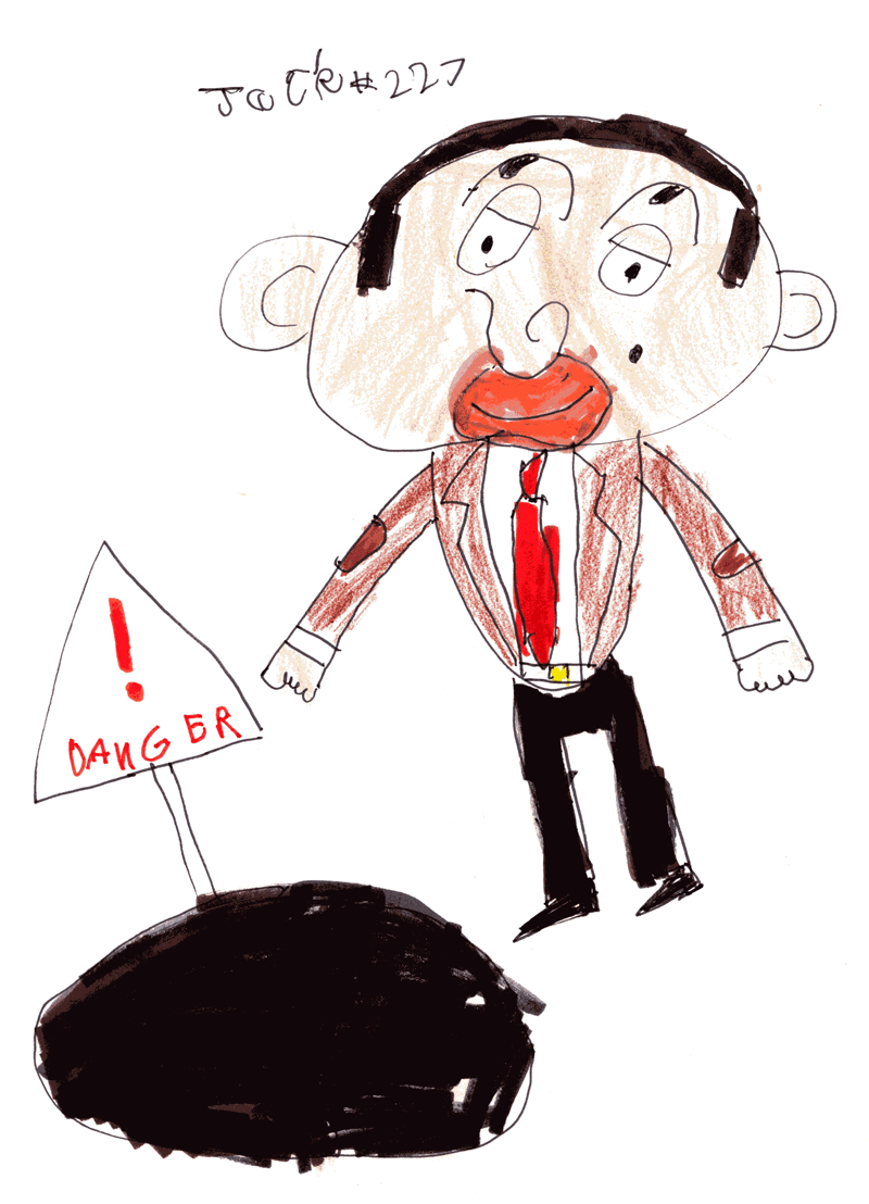 Mr Bean for Margaret Spiers