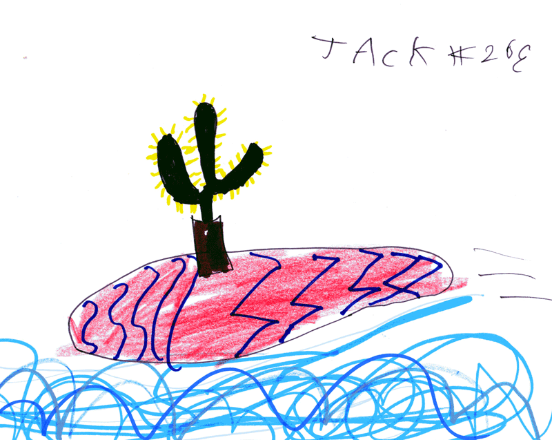 Cactus surfing for Sharon & Jack Forrester