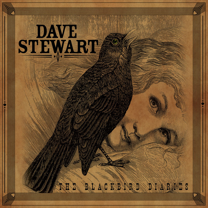 The Blackbird Diaries album cover for Dave Stewart (@davestewart)–Artist / Producer / Director & Eurythmics co-founder