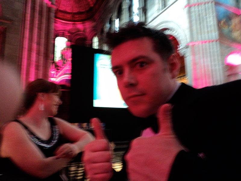 Jack at the Scottish Charity Awards 2011