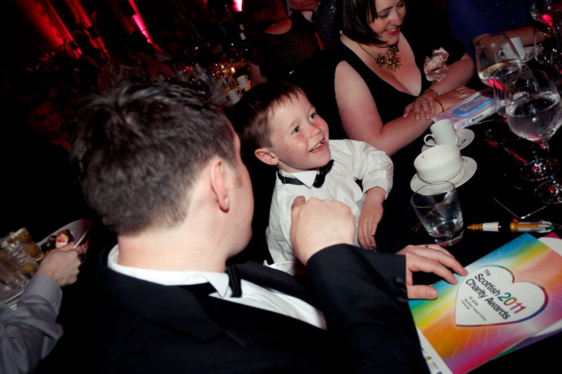 Jack at the Scottish Charity Awards 2011