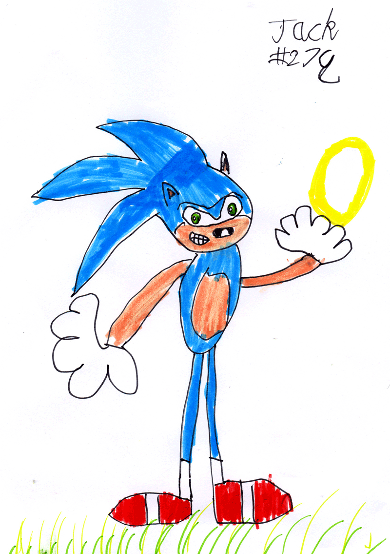 Sonic the Hedgehog for Gail & Willie