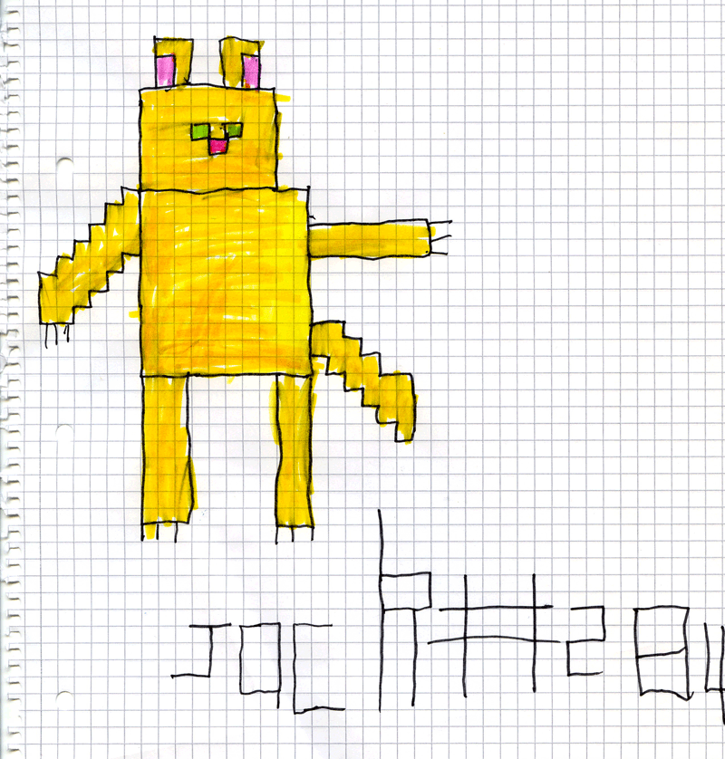 Pixel the Cat for Chris Allen