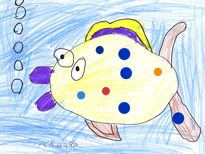 Spotty Rainbow Flatfish for Eilidh Murdoch