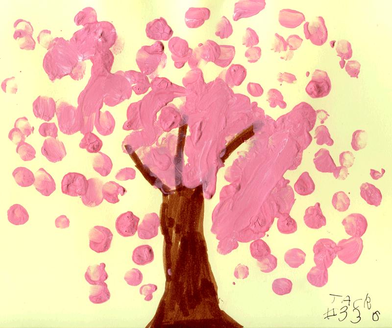 Blossom tree for Nicola Wood
