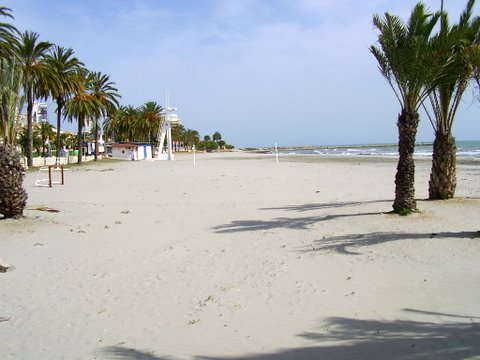 Santa Pola beach in Alicante, Spain for Shirley & Keith Boyden