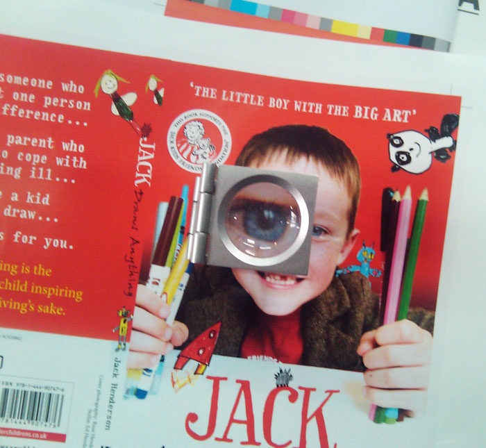 Jack's Book hot ON the press