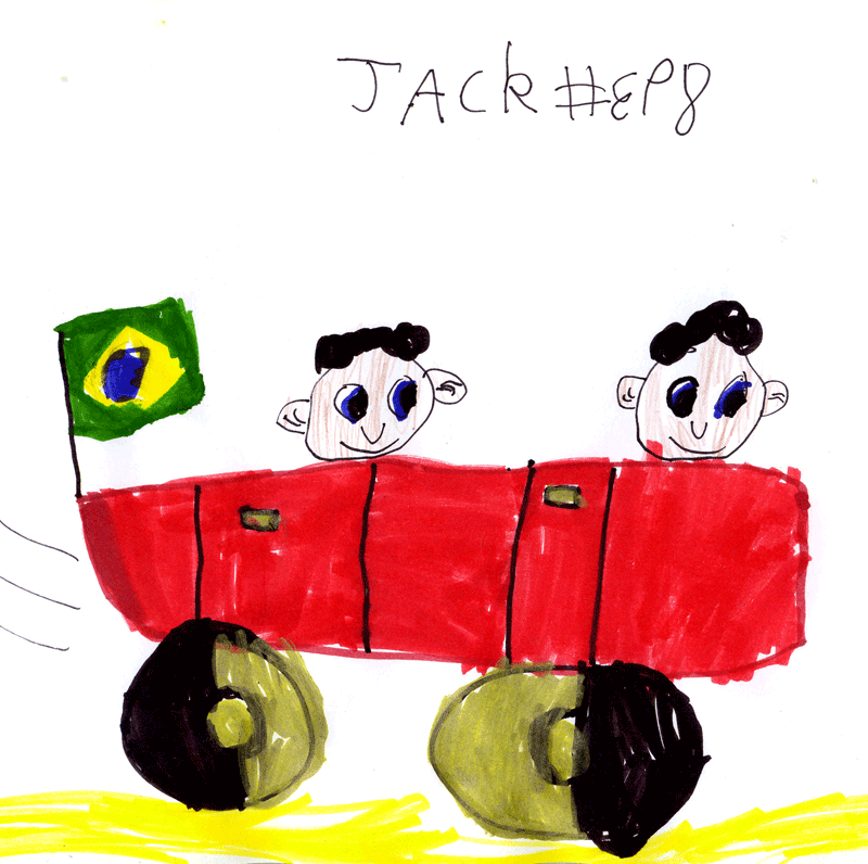 Convertible for Cecilia Johnson's grandsons Rafael & Thiago (they live in Brazil)