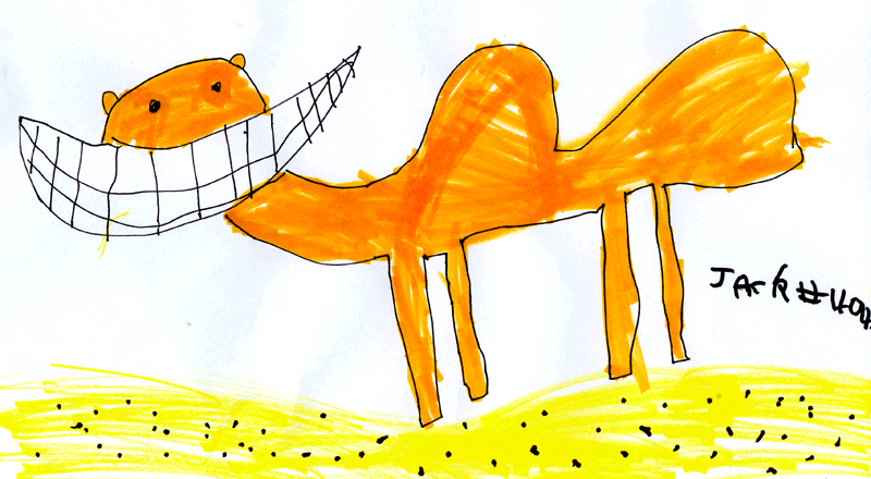 Smiley camel for Liz Smith