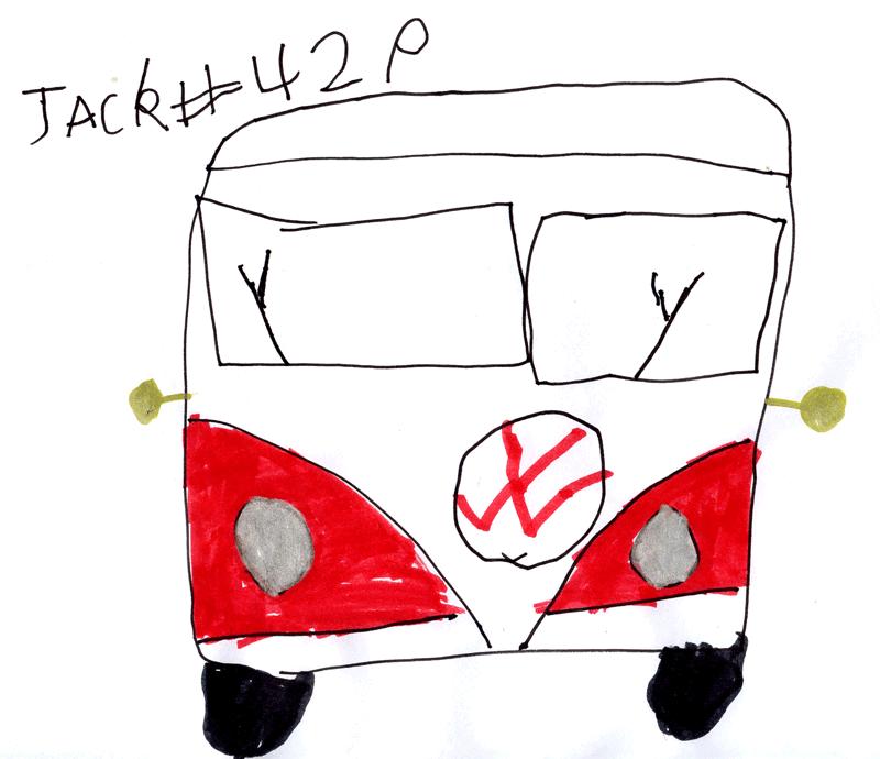 Volkswagen camper van for Lisa, Mark, Ben & Zak Simpson