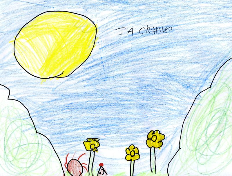 Hedgehogs & daffodils in a sunny Spring garden for Liza, Amit, Raul, Drew & Anya Patel