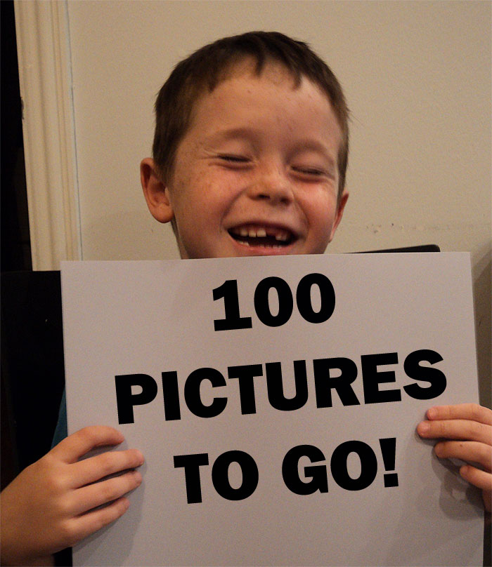 Jack down to last 100 pictures!