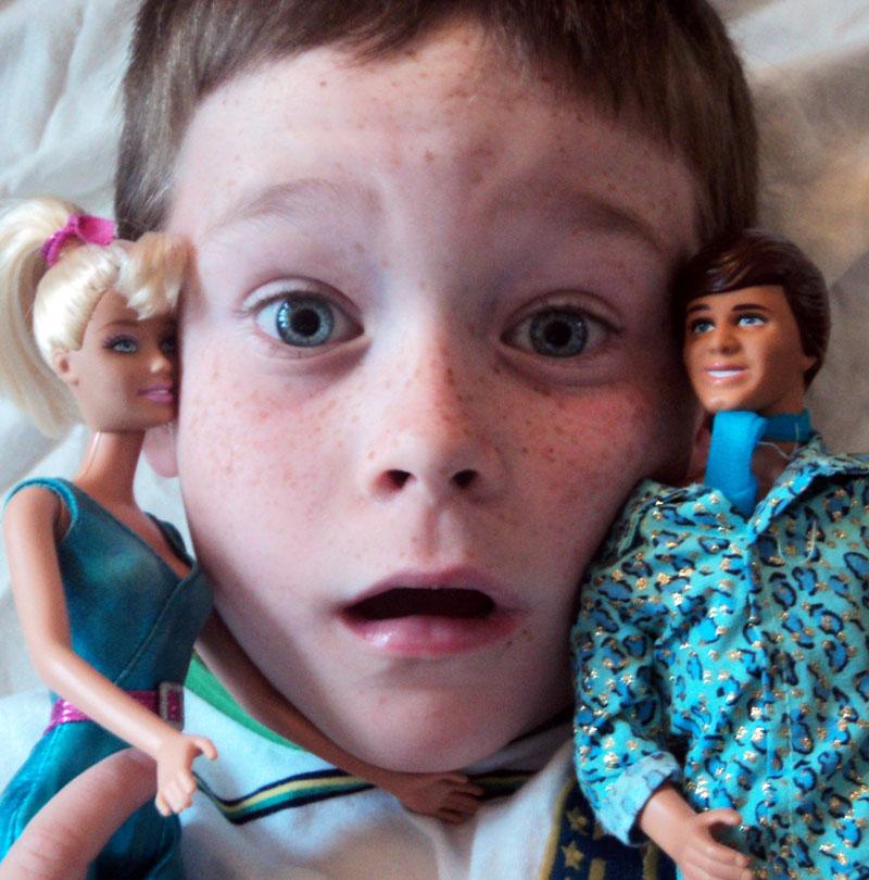 Jack vs. Ken & Barbie
