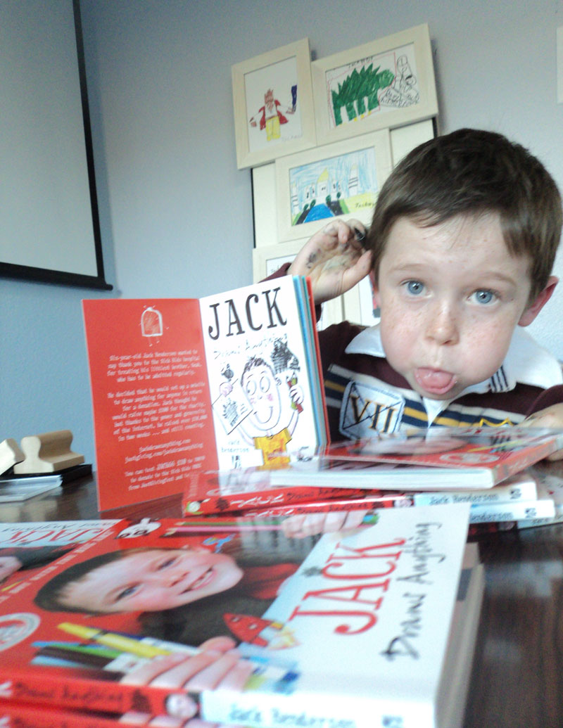 PRESS RELEASE — East Lothian schoolboy to join the ranks of global superstars and best–selling authors