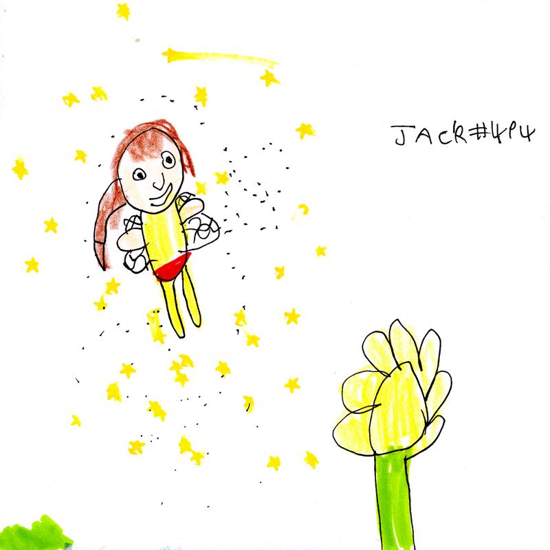 Fairy & a flower for Ellie