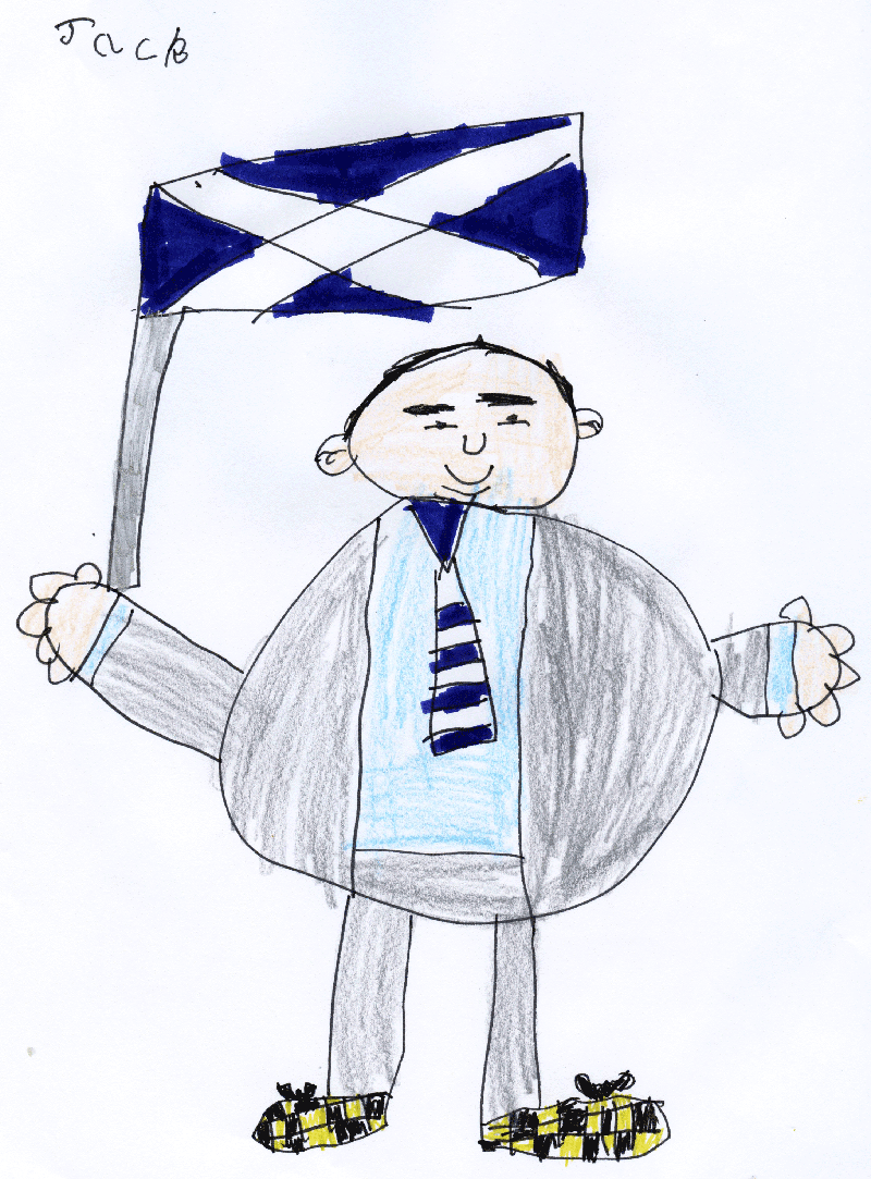 Jack's picture of and for Alex Salmond (First Minister of Scotland)