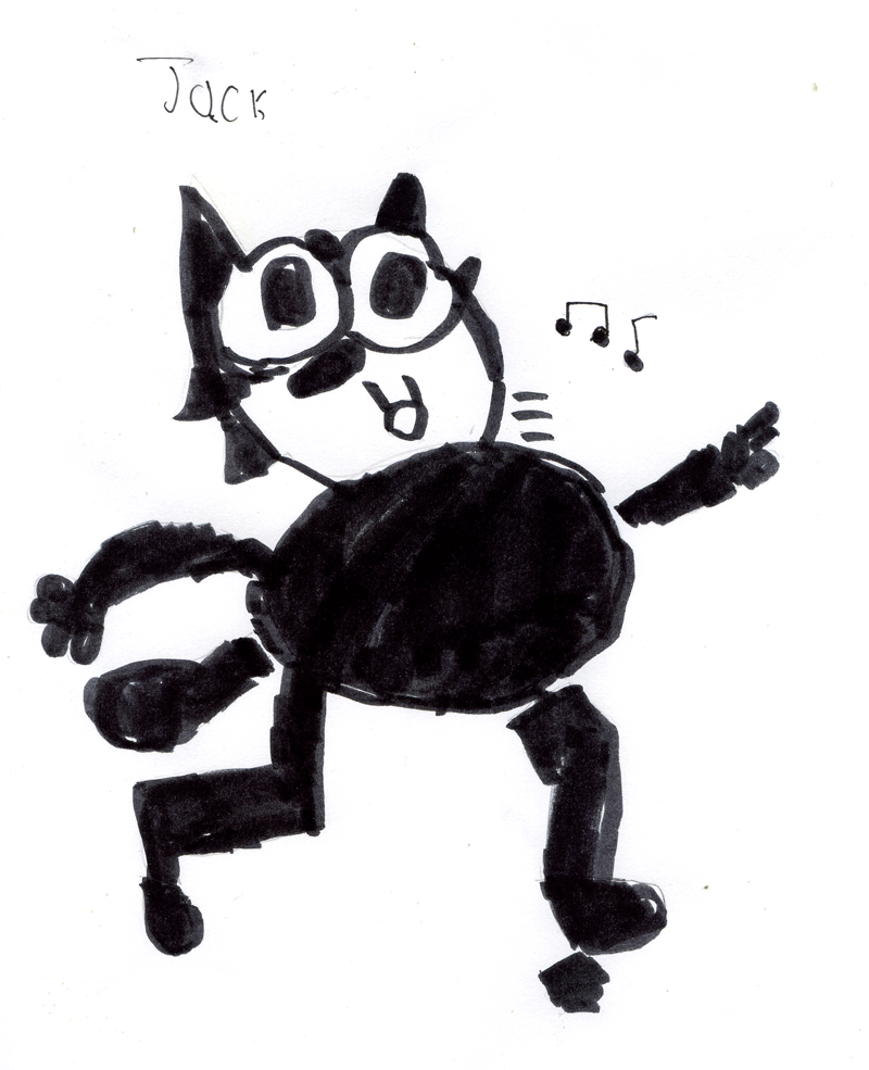 Felix the Cat for Craig 'Tapecat' McCudden