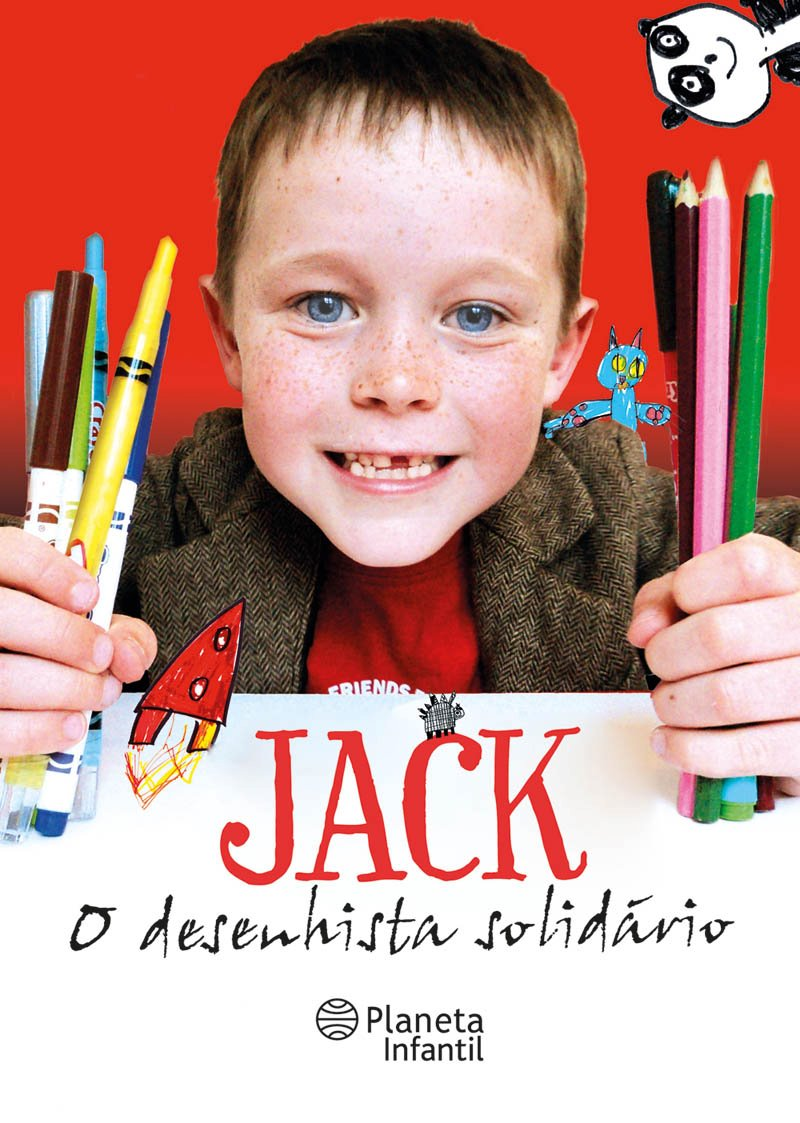 "First look at Brazilian version of ""Jack Draws Anything""–""Jack–O desenhista solidário"""