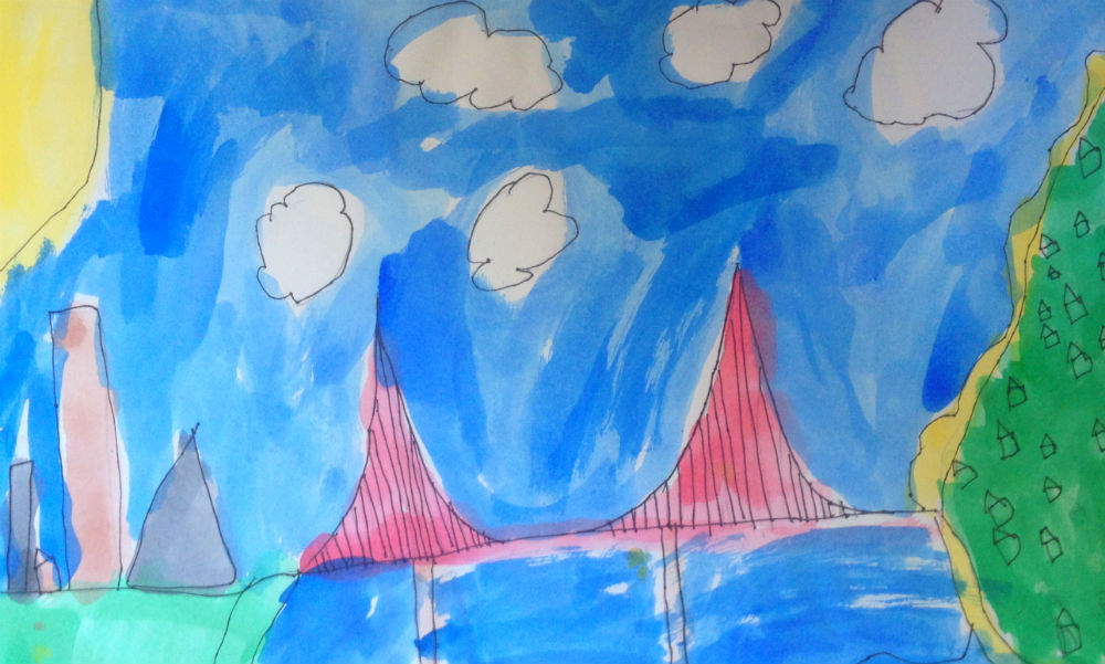 The Golden Gate Bridge by Jack Henderson