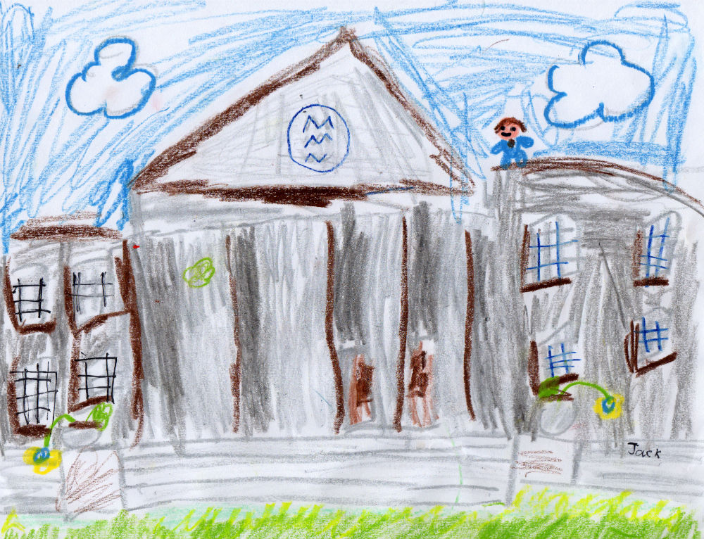 Our school, Dollar Academy for Jack Graham and his class by Jack Henderson