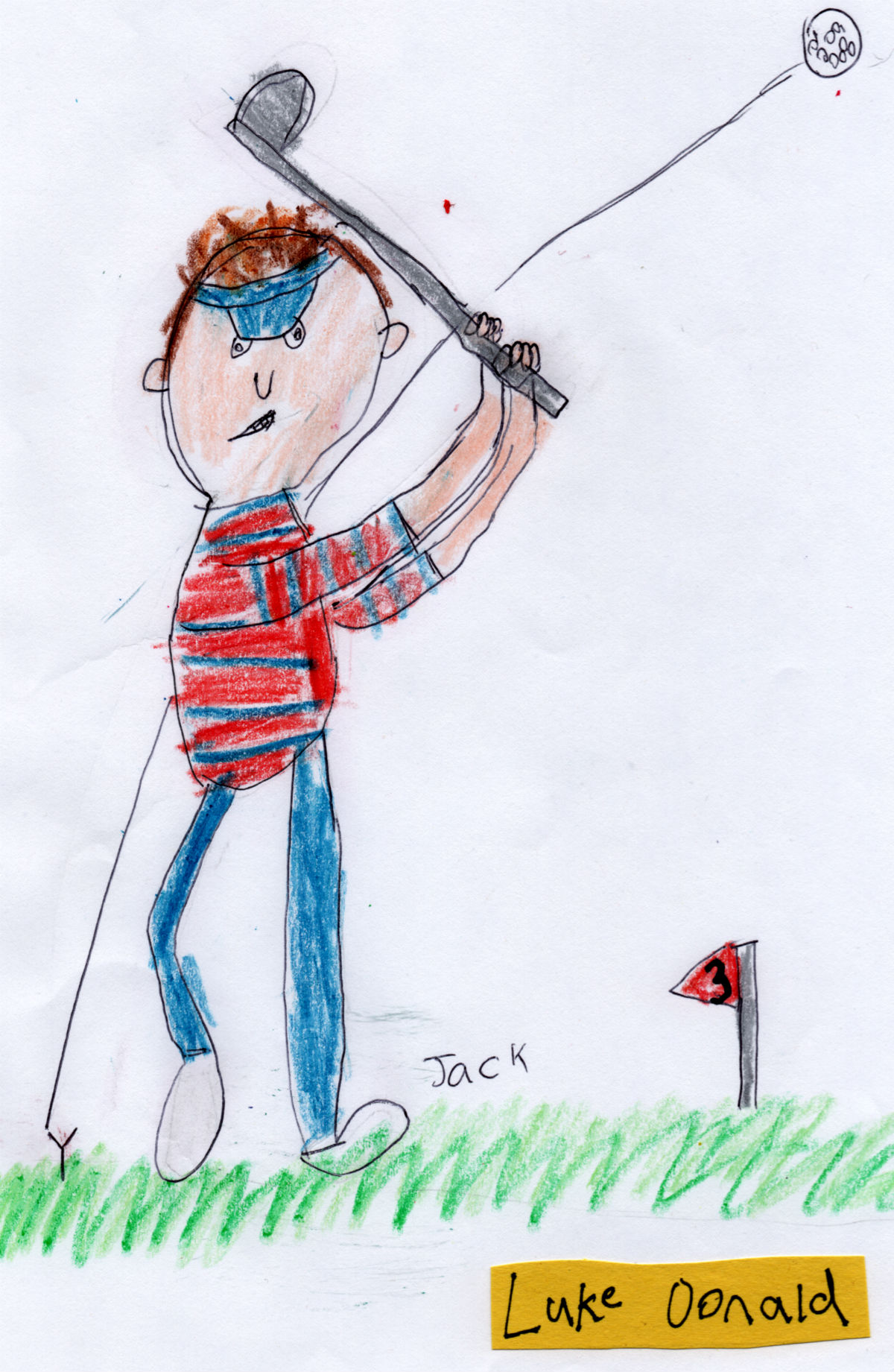 English Golfer — Luke Donald (#3 from Jack's 'Golf Collection')
