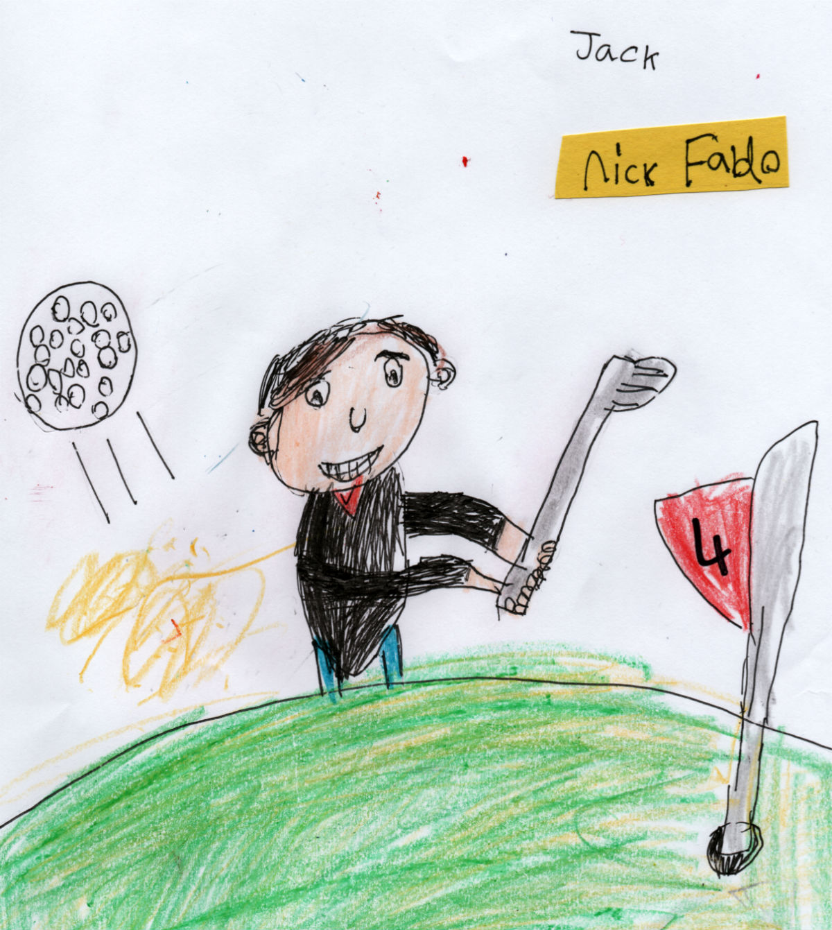 English Golfer — Nick Faldo (#4 from Jack's 'Golf Collection')